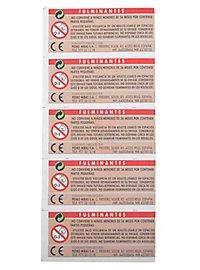 Amorces pour répliques d'arme (5 pièces)