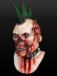 Anarcho-Zombie Maske aus Latex