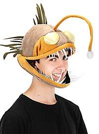 Anglerfisch Kopfbedeckung mit LED