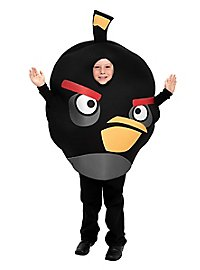 Angry Birds Kids Costume black (Special Item)
