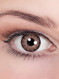 Lentilles de contact Beauty marron