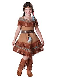 Apache Girl Kids Costume