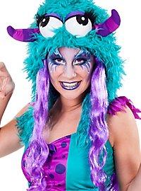 aqua make-up Violet