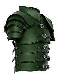 Armure d'éclaireur avec spallières en cuir