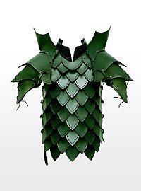 Armure de tueur de dragon en cuir vert