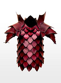 Armure de tueur de dragon rouge