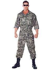 Army Jumpsuit Camouflage