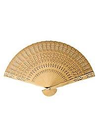 Asian Hand Fan wood