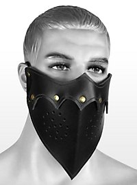 Leather mask - Assassin