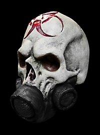 Atomschädel Maske aus Latex