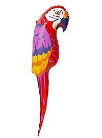 Aufblasbarer Papagei