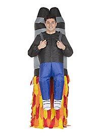 Aufblasbares Carry Me Kostüm Jetpack