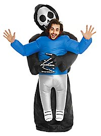 Aufblasbares Carry Me Kostüm Sensenmann