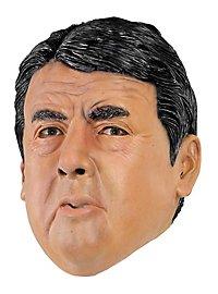 Außenminister Gabriel Politikermaske