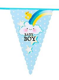 Baby Boy Wimpelkette 6 Meter