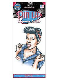 Baby Doll Pin up Temporary Tattoo