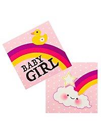 Baby Girl Servietten 12 Stück