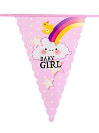 Baby Girl Wimpelkette 6 Meter