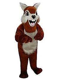Backenhörnchen Maskottchen