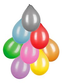 Balloons metallic 8 pieces
