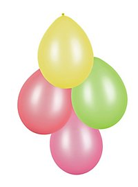 Balloons neon 8 pieces