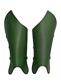 Bandit Beinschienen grün