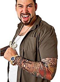 Bandit Manches de peau tatouée