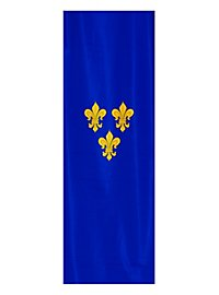 Bannière de France fleur de lis