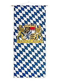 Bannière État libre de Bavière