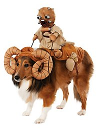 Bantha with Tusken Raider Star Wars Dog Costume