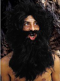 Barbe de barbare avec perruque