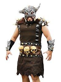 Barbarenfürst mit Maske Kostüm