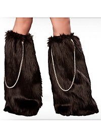 Barbarian Leg Warmers with Chains