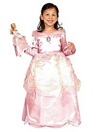 Barbie Prinzessin rosa Kinderkostüm + Puppenkleid