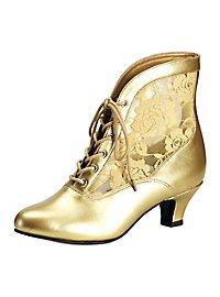 Barock Schuhe gold