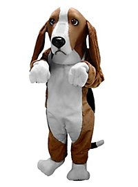 Basset Hound Mascot
