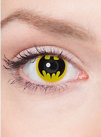 Bat Symbol Contact Lenses