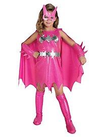 Batgirl pink Kinderkostüm