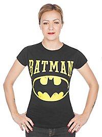 Batman Girlie Shirt Vintage Logo