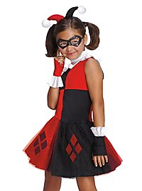 Batman Harley Quinn costume dress for girls