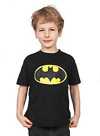 Batman - Kinder T-Shirt Distressed Logo