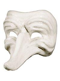 Batocchio bianco - Venetian Mask
