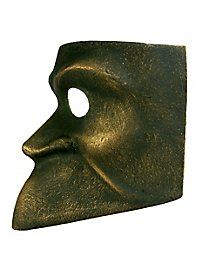 Bauta bronzo - Venetian Mask
