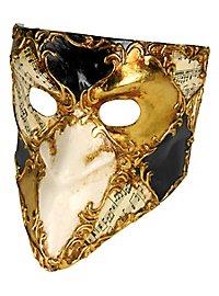 Bauta scacchi musica - Venezianische Maske