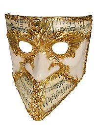 Bauta stucco musica - Venezianische Maske