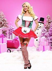 Bavaroise de Noël sexy Déguisement