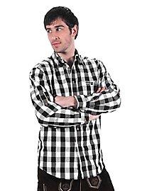 Bayernhemd schwarz-weiß