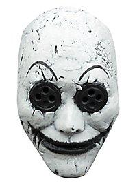 Beady eyes clown mask