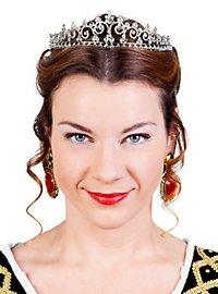 Beauty Queen Tiara silver