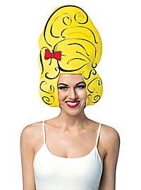 Beehive foam wig
